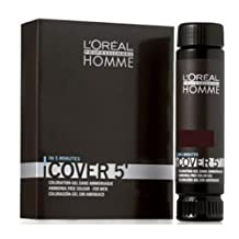 Loreal Homme Cover 5 - Ammonia Free 5-minute Color for Men (5 Brown)