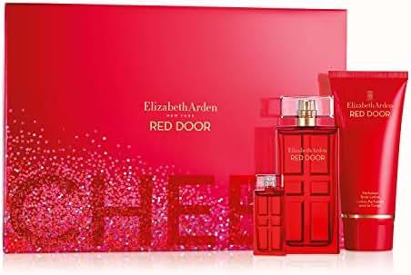 Elizabeth Arden Red Door Eau De Toilette Spray 3 Piece Gift Set
