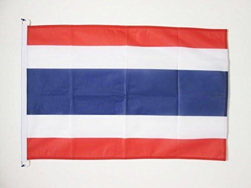 AZ FLAG Flagge Thailand 150x90cm flaggen Top Qualit/ät THAIL/ÄNDISCHE Fahne 90 x 150 cm Aussenverwendung