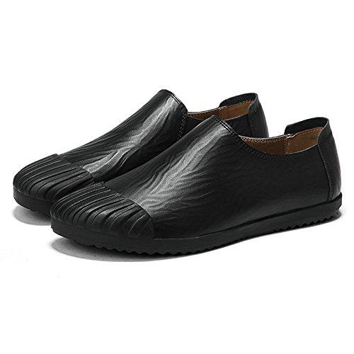 Décontracté pour Été Black DHFUD Hommes de Plage Chaussures Mocassins Sn5gYwqg