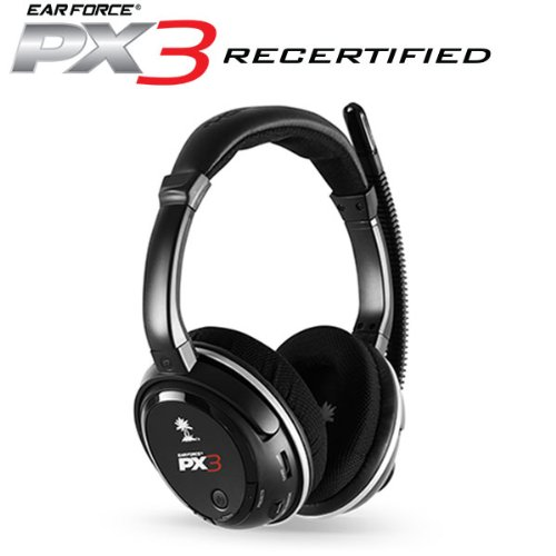 Turtle Beach Ear Force PX3 Programmable Wireless Gaming Headset (Certified Refurbished)