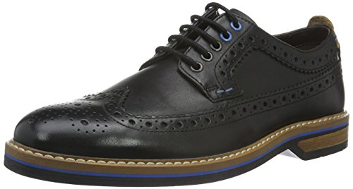 Scarpe Nero Leather Uomo Clarks Stringate Pitney Black Basse Limit Oxford wRqT0E