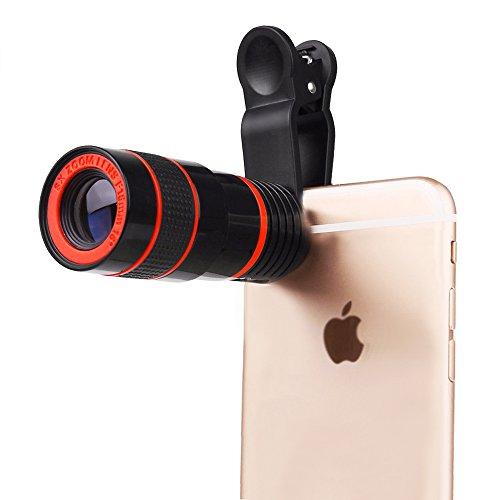 Universal 8X Telescope Microscope Lens - 8