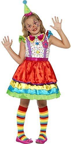 Niña Brillante Lujo Payaso Circo Para festival carnaval Halloween Vestido  Sombrero Diadema Lazo Flores Disfraz 4-12 AÑOS - 4-6 years  Amazon.es   Juguetes y ... 98ea53ebff0