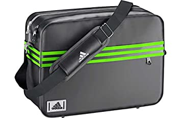 1923fa1a233c Image Unavailable. Image not available for. Colour  Adidas Enamel Messenger  Bag ...