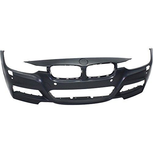 Bmw 330i Front Bumper - Evan-Fischer EVA178062214108 Front BUMPER COVER Primed for 2013-2016 BMW