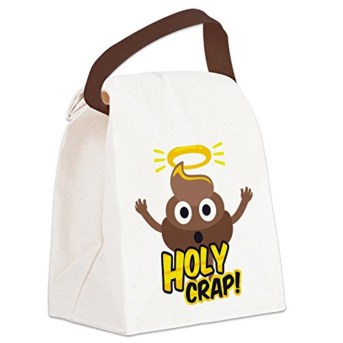 CafePress - Holy Crap! - Canvas Lunch Bag with Strap Handle