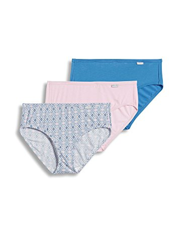 Jockey Women's Underwear Supersoft Hipster - 3 Pack, Soft Pink/Arctic Blue, 6