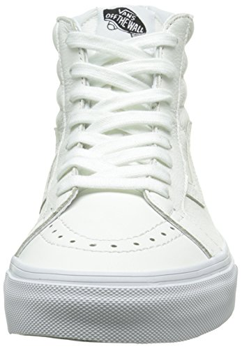 Hautes Blanc Reissue Sk8 Sneakers Black Premium True Leather Mixte Zip Hi Adulte Vans White qxFXwS6CS
