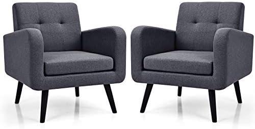 Saftstar Modern Upholstered Armchair
