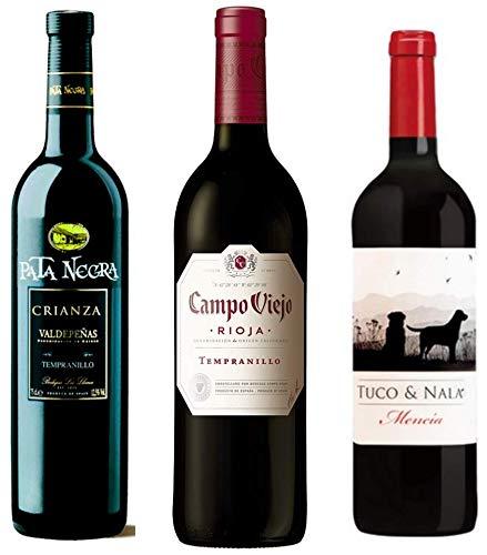 Pack de Vinos para regalar compuesto por: Pata Negra crianza ...