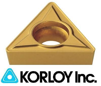 10pc) Korloy TCMT 21.51-HMP NC3120 Indexable Carbide Inserts, TCMT 110204, (1-02-025699)