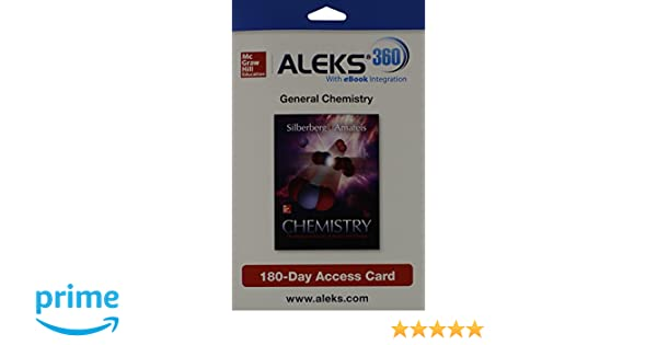 Aleks 360 access card 1 semester for chemistry the molecular aleks 360 access card 1 semester for chemistry the molecular nature of matter martin silberberg dr patricia amateis professor 9781259206740 fandeluxe