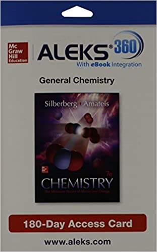 Aleks 360 access card 1 semester for chemistry the molecular aleks 360 access card 1 semester for chemistry the molecular nature of matter 7th edition fandeluxe Image collections