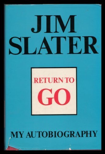 Return to Go by Slater Jim (1977-10-13) Hardcover