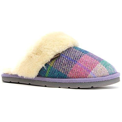Pantofola Di Lana Wembley Lamo Color Viola