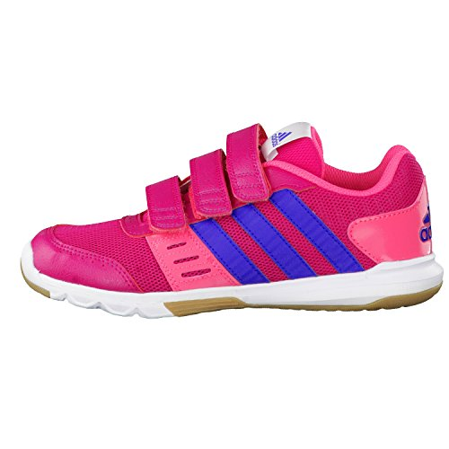 0eee706983cf42 adidas Kinderschuhe Hallenschuhe Klettschuhe Turnschuhe ESSENTIAL STAR 2 CF  pink ...