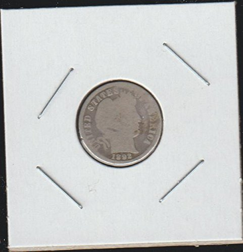 1892 Barber or Liberty Head (1892-1916) Dime Good