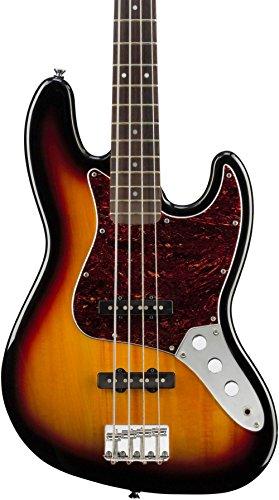 Squier by Fender Vintage Modified Jazz Bass, 3-Tone Sunburst