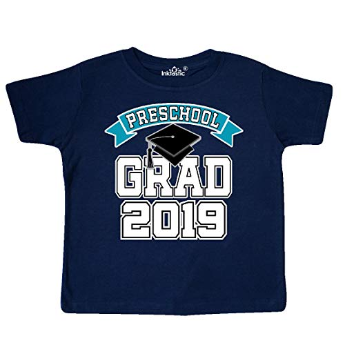 inktastic - Preschool Graduation 2019 Toddler T-Shirt 5/6 Navy Blue 33dd6 -