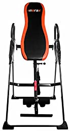Merax Deluxe Foldable Gravity Inversion Table for Back Therapy Exercise Fitness