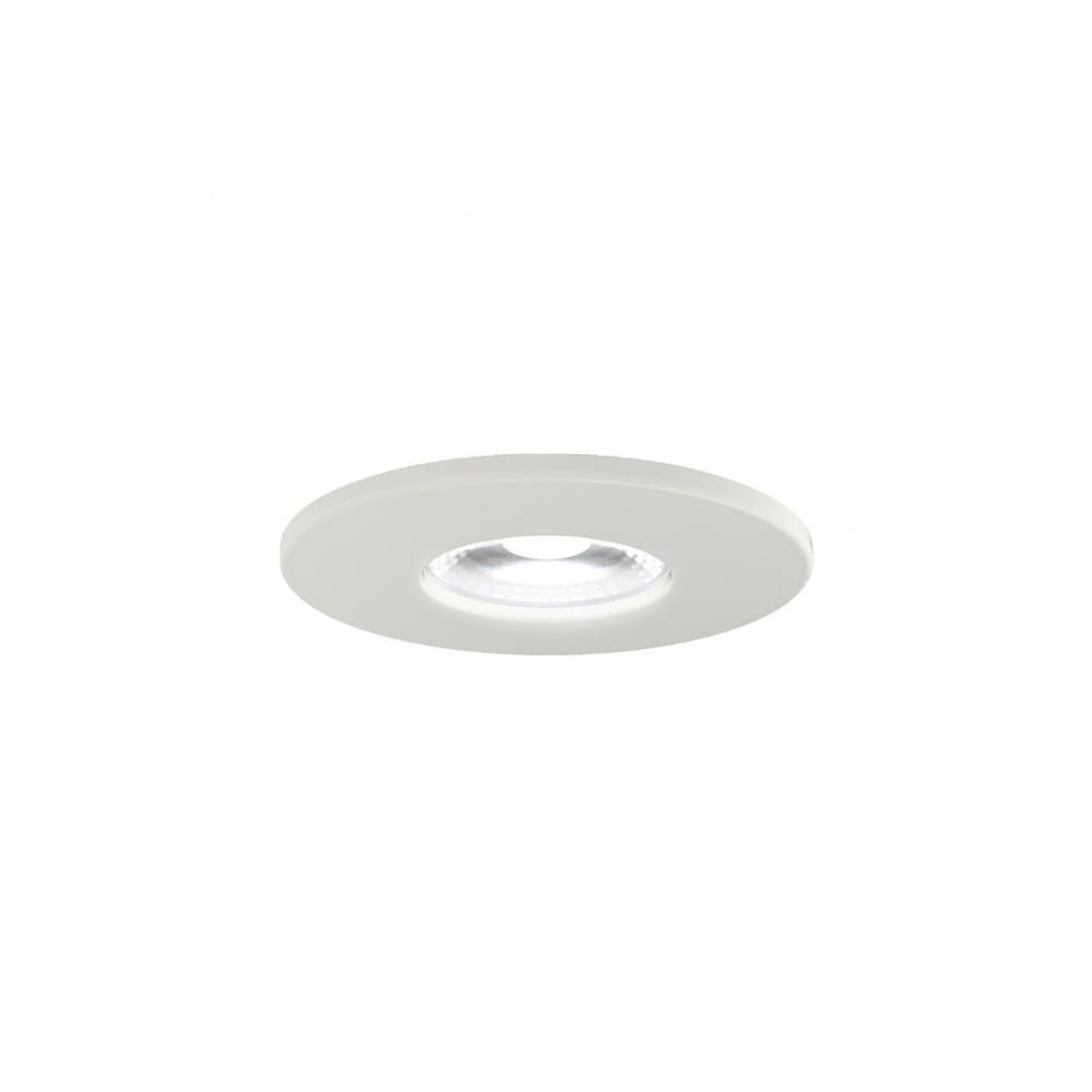 Bathroom Ceiling Light 3000K 4000K Warm White Cool White Warm White White LED Downlight Recessed Ceiling IP65 Lights Ansell Argo LED IP65 5W Integrated LED Ansell Downlight LED Bathroom High Output LED Light 3K