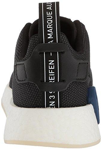 Adidas Originals Vrouwen Nmd_r2 Hardloopschoen Zwart / Nobele Indigo / Wit