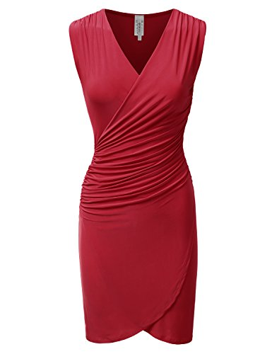 Fitted Shirred Tank Dress - 3