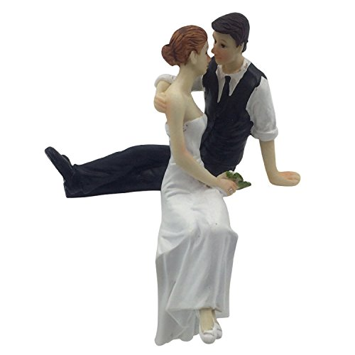 Romantic Look of Love Bride and Groom Wedding Cake Topper Cake Decoration Figurine Keepsake