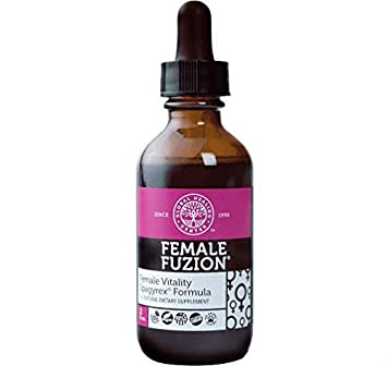 Global Healing Center Female Fuzion Hormone Balance & Support Formula - Superior Vitality, Energy &