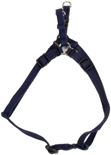 Image of Coastal Pet Products #14345 3/8 Inch Wide x 18 Inch Soy Comfort Harness - Indigo