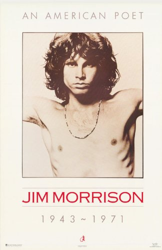 The Doors Poster Jim Morrison 1943-1971 An American Poet