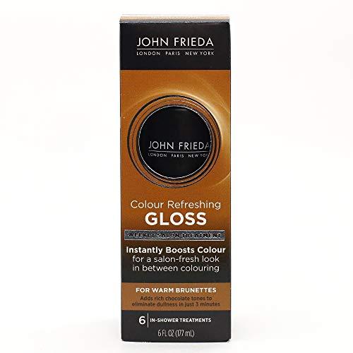 (John Frieda Precision Colour Refreshing Gloss for Warm Brunettes, 6 Fluid Ounce)