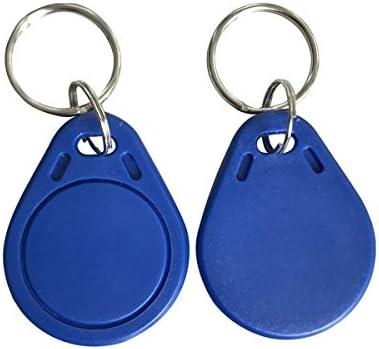MATEE 3.56mhz RFIDアクセスコントロールタグ カラー:ブルー(10個入)