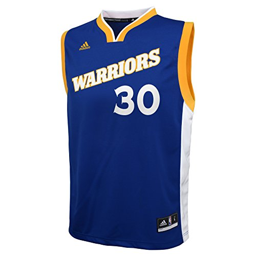 NBA Youth 8-20 Golden State Warriors Curry Replica Stretch Alternate ()