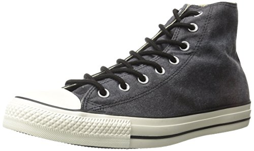 Converse Chuck Taylor All Star Adulte Basic Wash Hi - Zapatillas de tela unisex Black