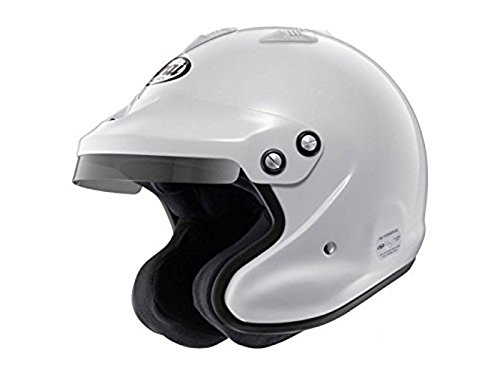 Arai GP J3 Open Face Helmet White Small Snell 2010 ()