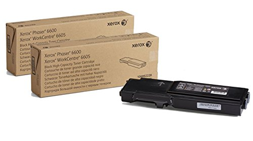 Genuine Xerox High Capacity Black Toner Cartridge for the Phaser 6600 or WorkCentre 6605, 106R02228 by Xerox