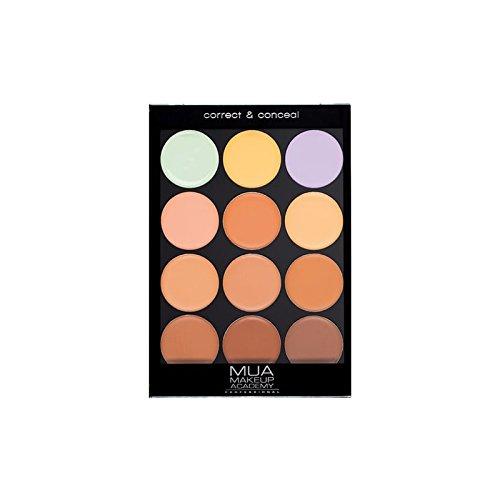 MUA Professional Correct & Conceal Palette Warm (Pack of 6) - 正しいプロの&ウォームパレットを隠します x6 [並行輸入品] B072HJ8T4W
