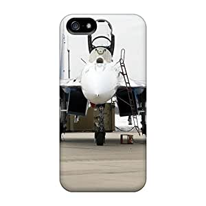 Anti-scratch And Shatterproof White Airplane Phone Case For Iphone 5/5s/ High Quality Tpu Case