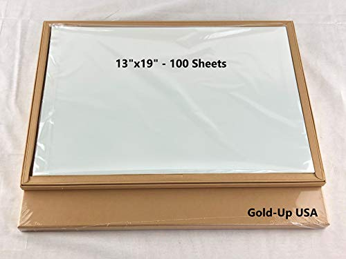 13 x 19 Inch Waterproof Inkjet Transparency Film for Silk Screen Printing - 1 Pack (100 Sheets) (Printer Printing For Screen Film)
