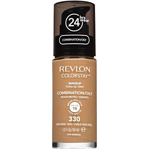 Price comparison product image Revlon ColorStay Liquid Makeup for Combination/Oily, Natural Tan