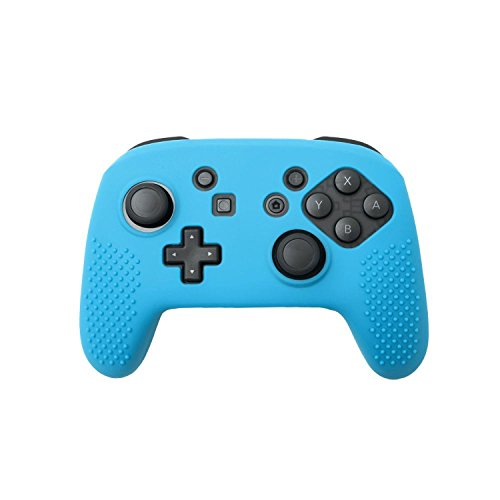 Insten Pro Controller Case Nintendo Switch, Protective Slim Silicone Skin Case [Fully Protected/Lightweight] for Nintendo Switch Pro Controller, Blue Review