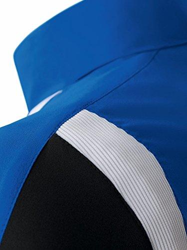 erima Anzug Premium One Präsentationsjacke - Prenda, color azul / negro / blanco, talla DE: 36