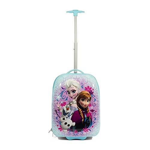 Disney Frozen Hard Shell Trolley Carry On Luggage by disney