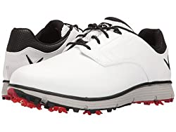 Callaway Men's La Jolla Golf Shoe, White, 9.5 D Us