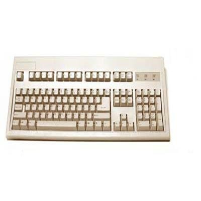 104KEY PS2 Keyboard E03601P1 Beige with Life Guarantee