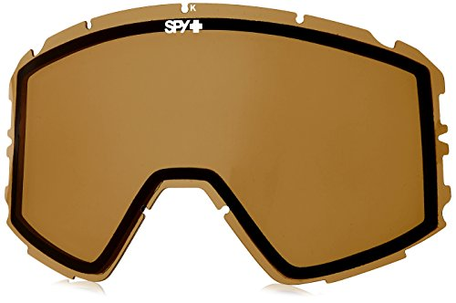 Spy Optic Raider Snow Goggles, Bronze - Lenses Replacement Spy Goggles