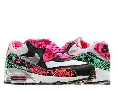 Nike Air Max 90 Print (GS) Girls Running Shoes 704953 001
