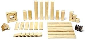 42 Piece Tegu Magnetic Wooden Block Set, Natural
